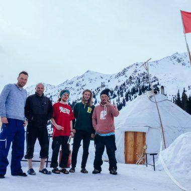Yurt kamp wintersport