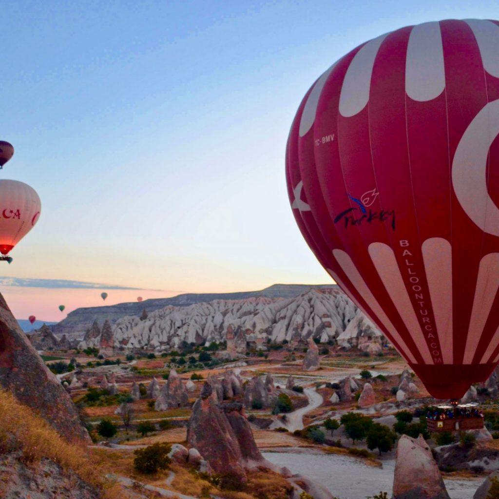 Avontuurlijke wintersport in Cappadocië