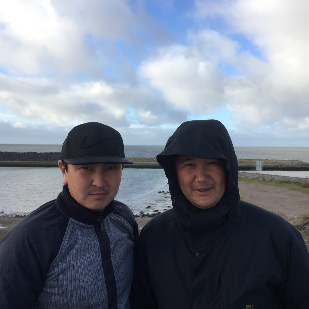 Kyrgyz guides in the Netherlands
