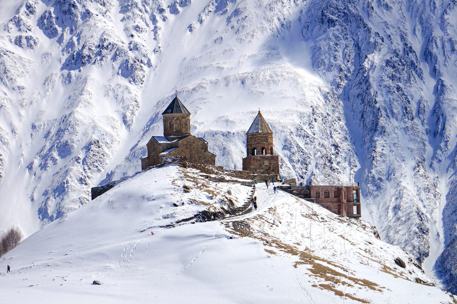 Avontuurlijke wintersport in Georgië
