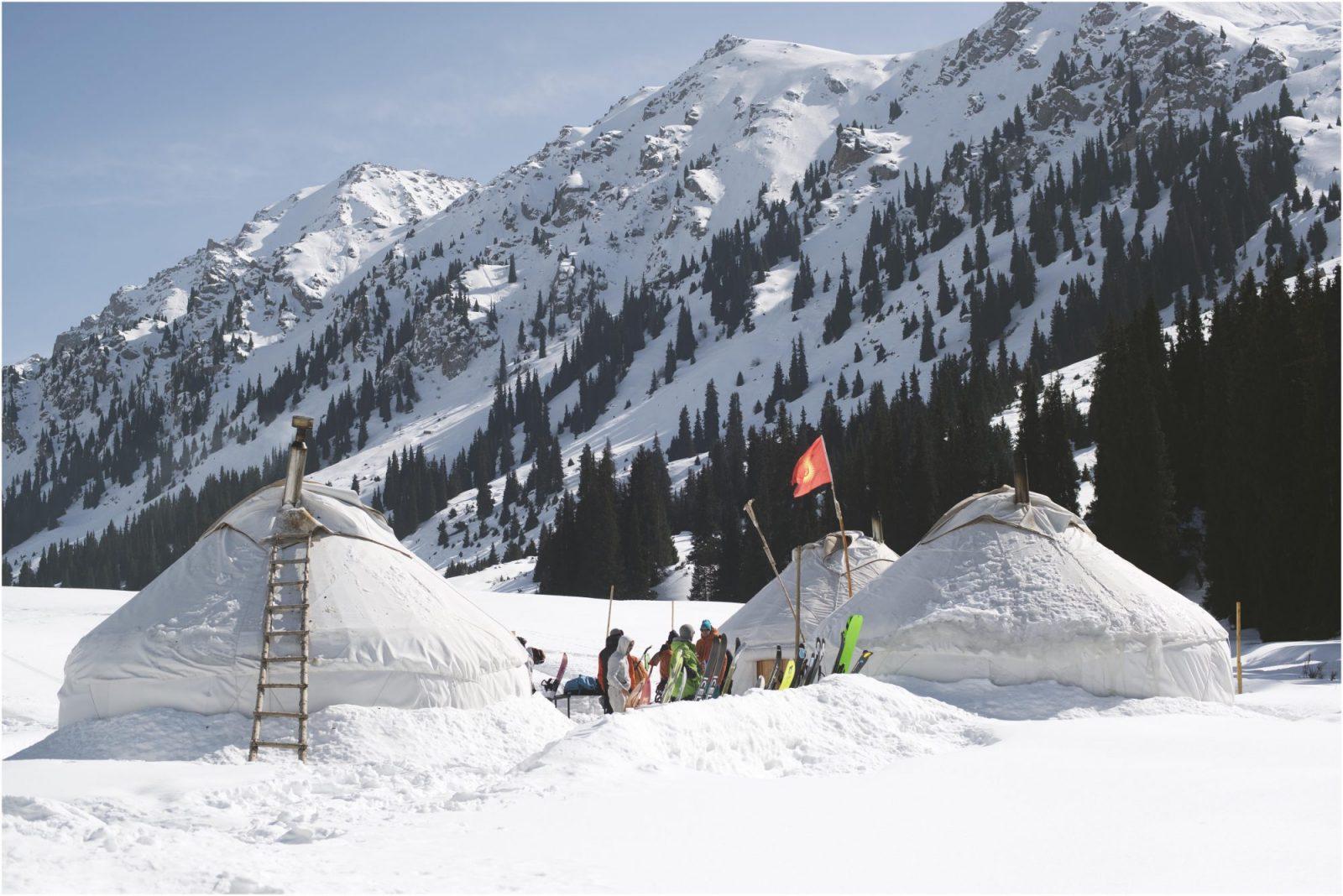 Avontuurlijke wintersport Kirgizië