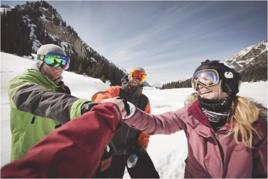 Proost wintersport Kirgizië