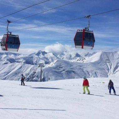 Skigebied Gudauri