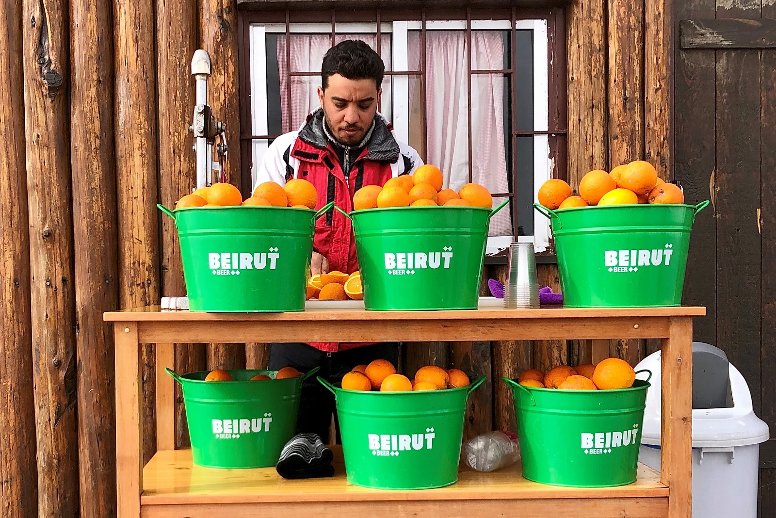 Beirut Orange Juice