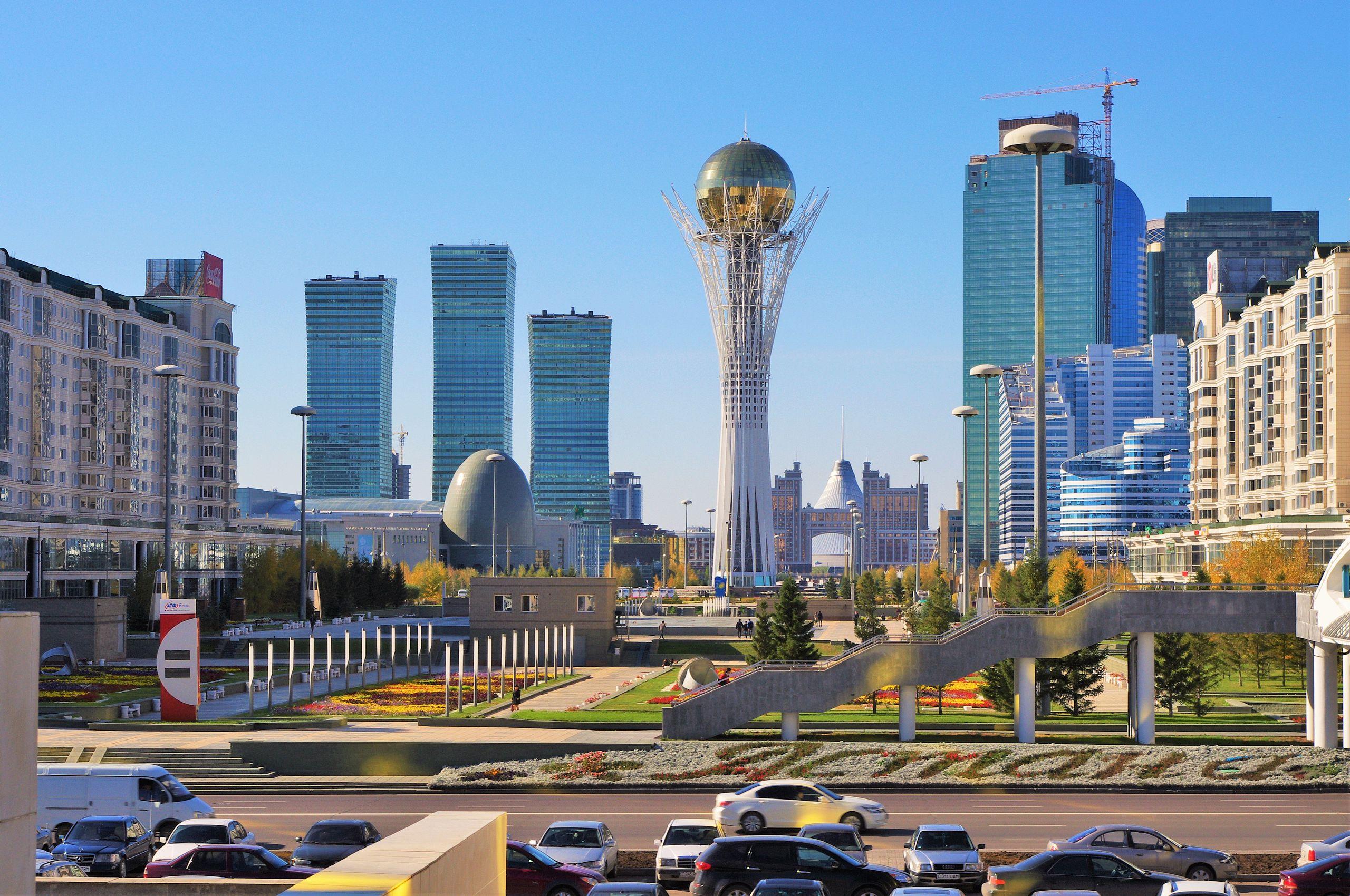 Downtown Astana Kazachstan