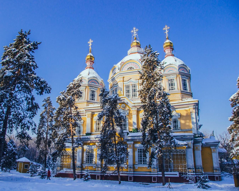 Kerk Almaty Kazachstan