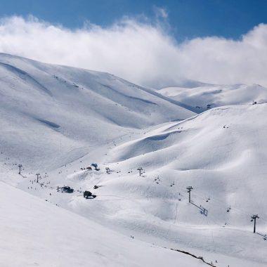Mzaar ski lift