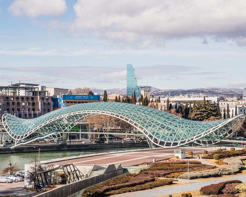 Peace Bridge Tbilisi, Georgië