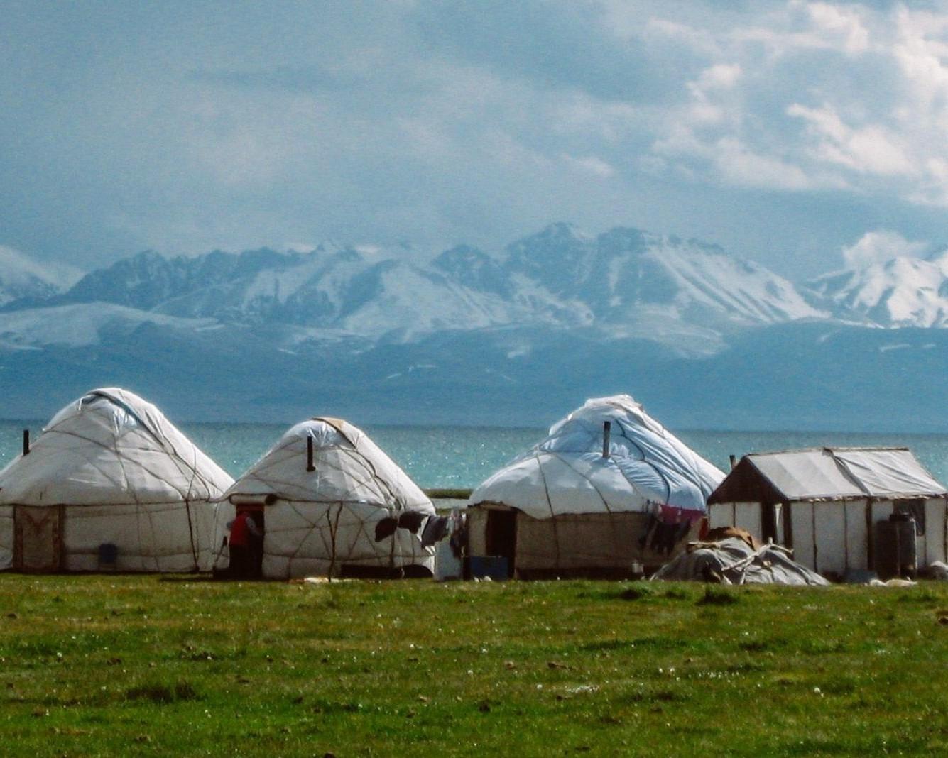 Son Köl Lake Kirgizië