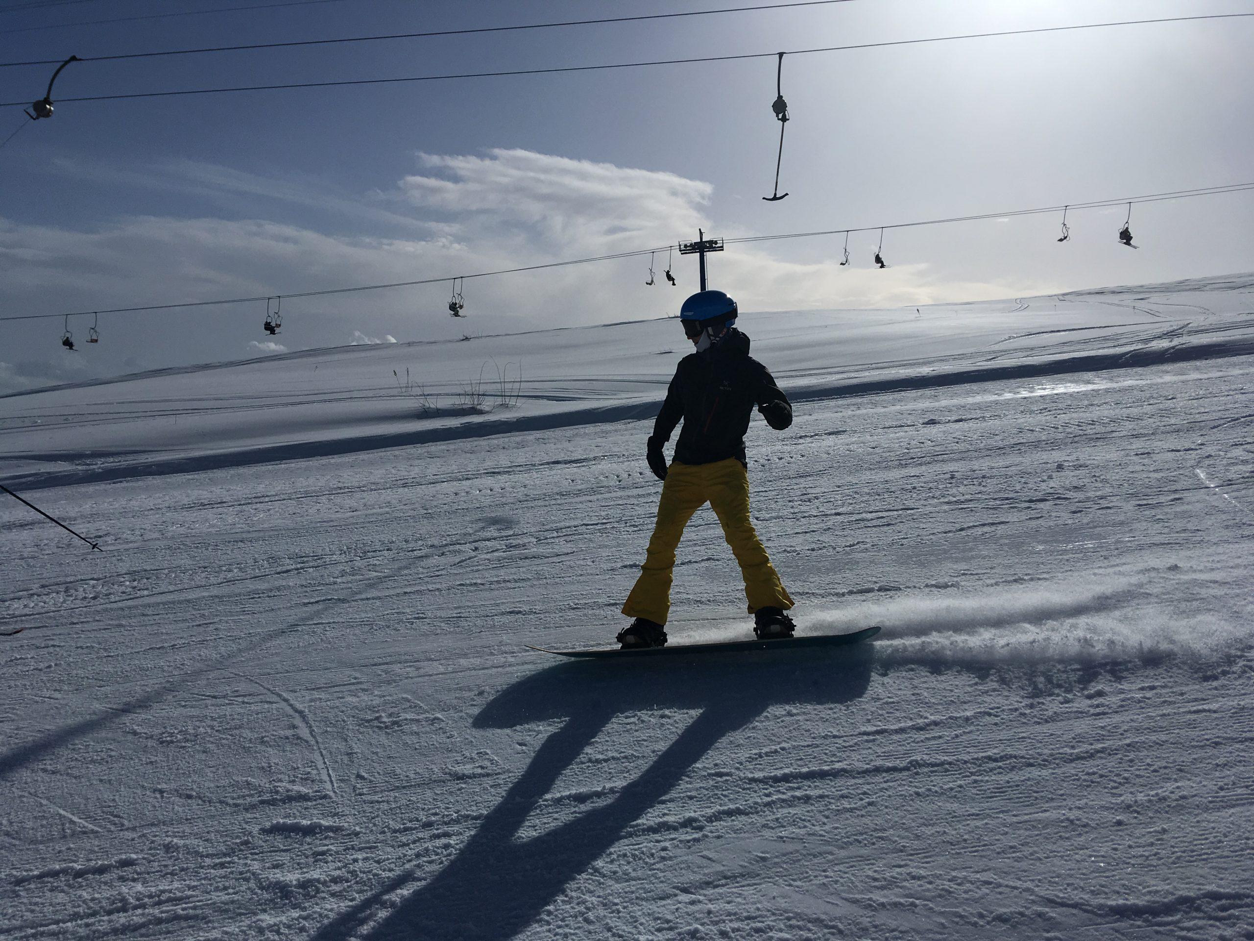 Snowboarden in N-Macedonië