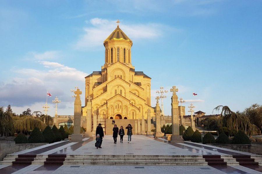 Sameba kerk Tbilisi