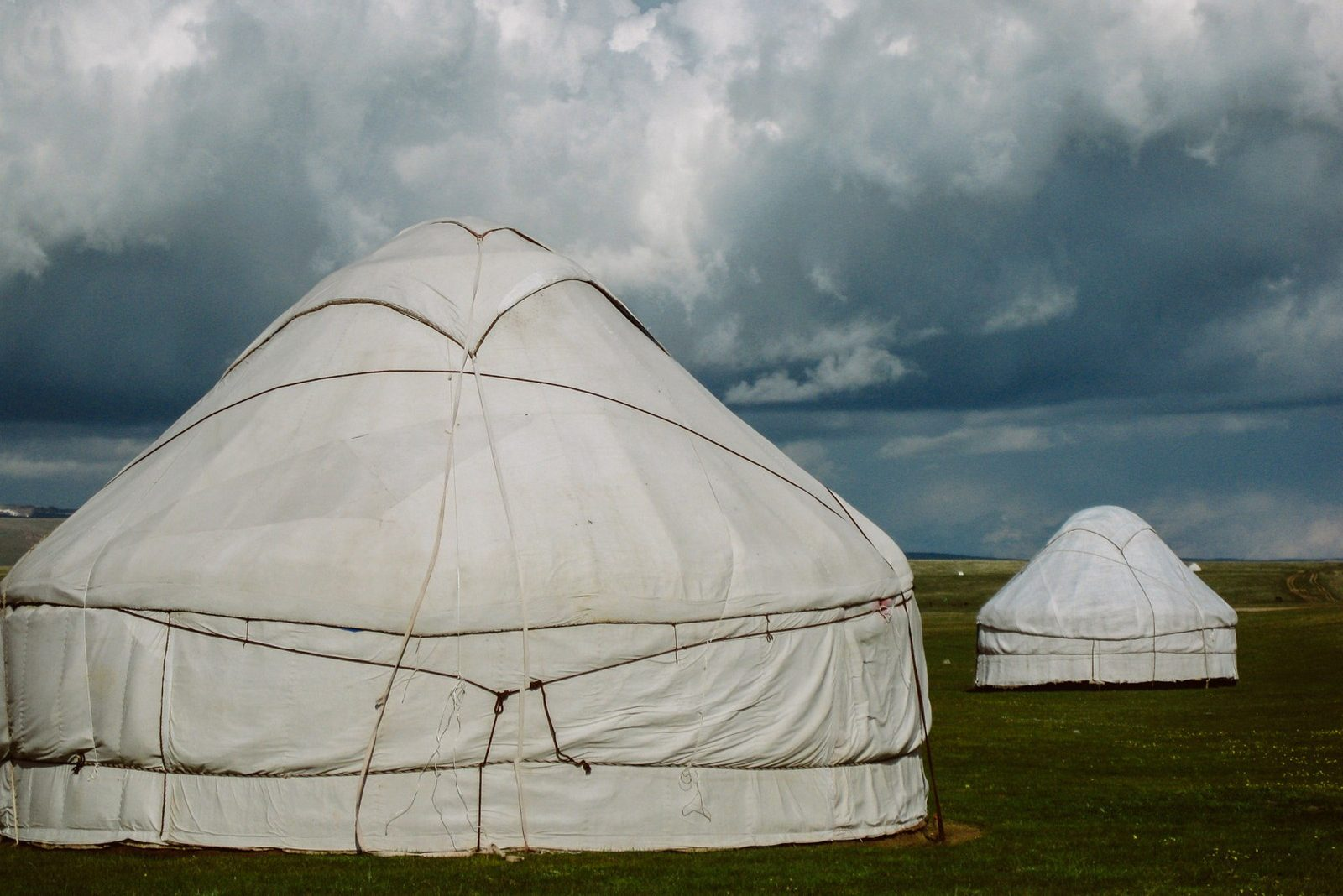 Son Kol lake yurts