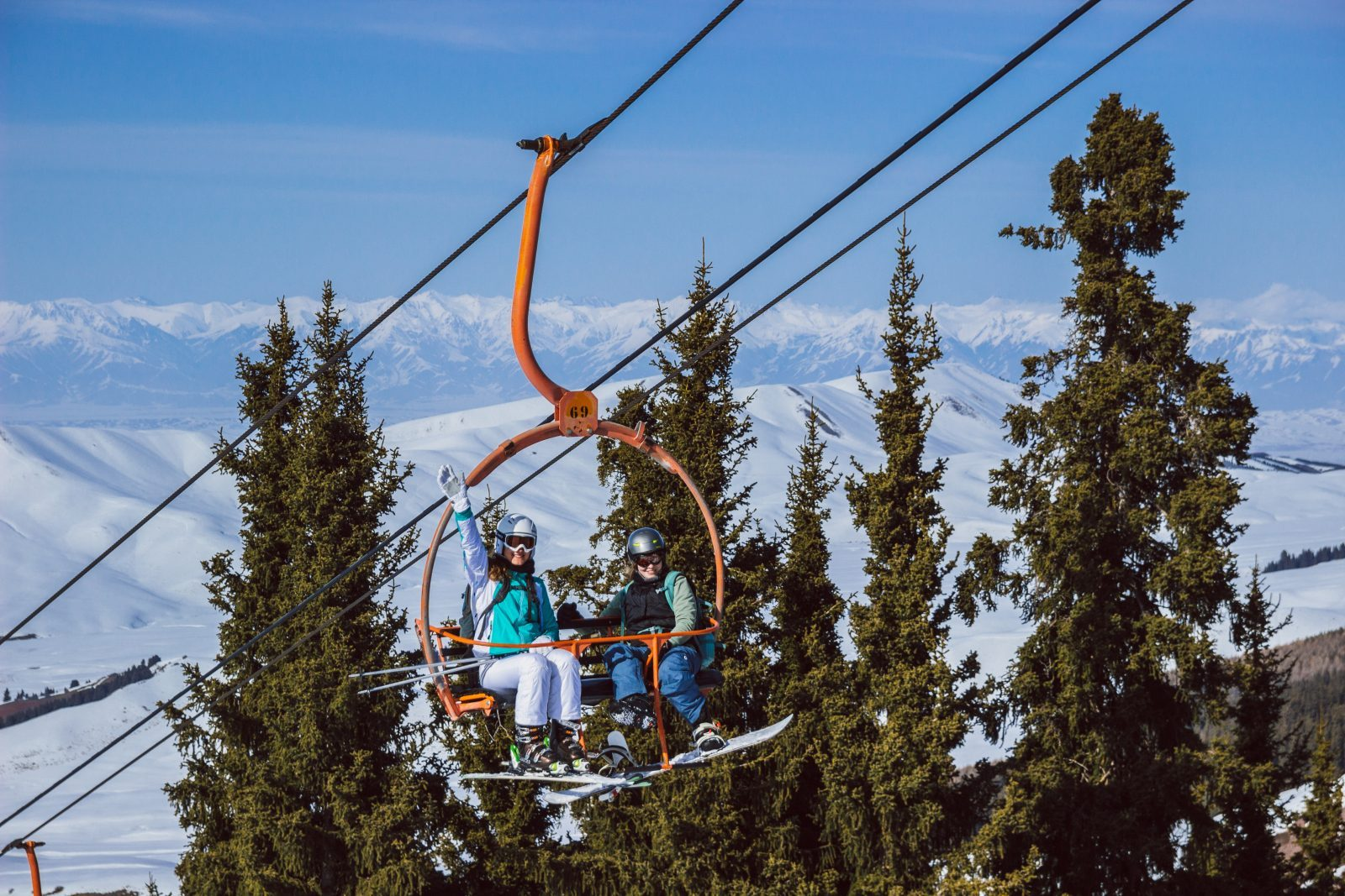 ski lift karakol