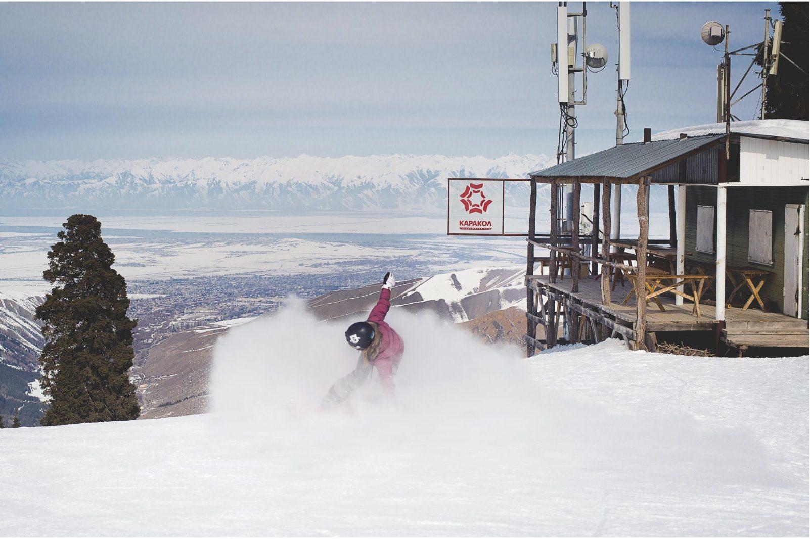 snowboard karakol