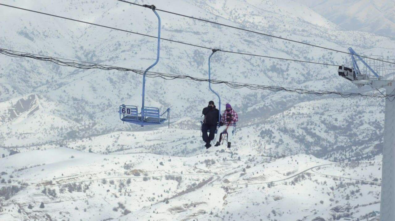 Skigebied Chimgan
