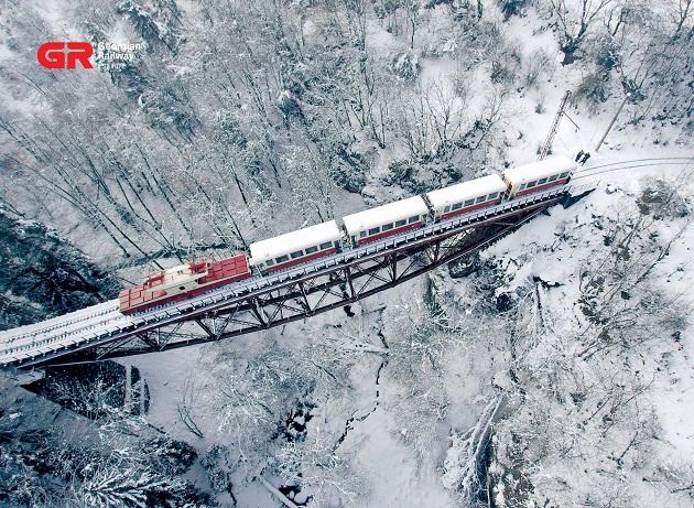 Train Bakuriani - Borjomi