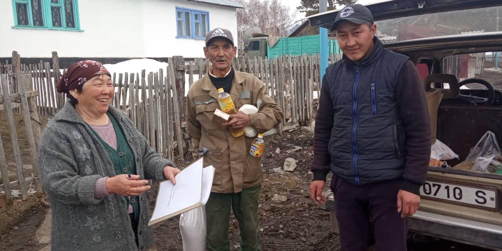 Hulptransport Centraal Azië