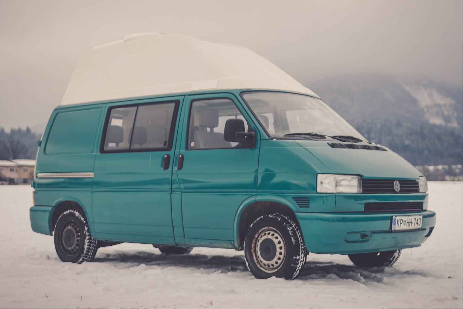 Camper wintersport Slovenie