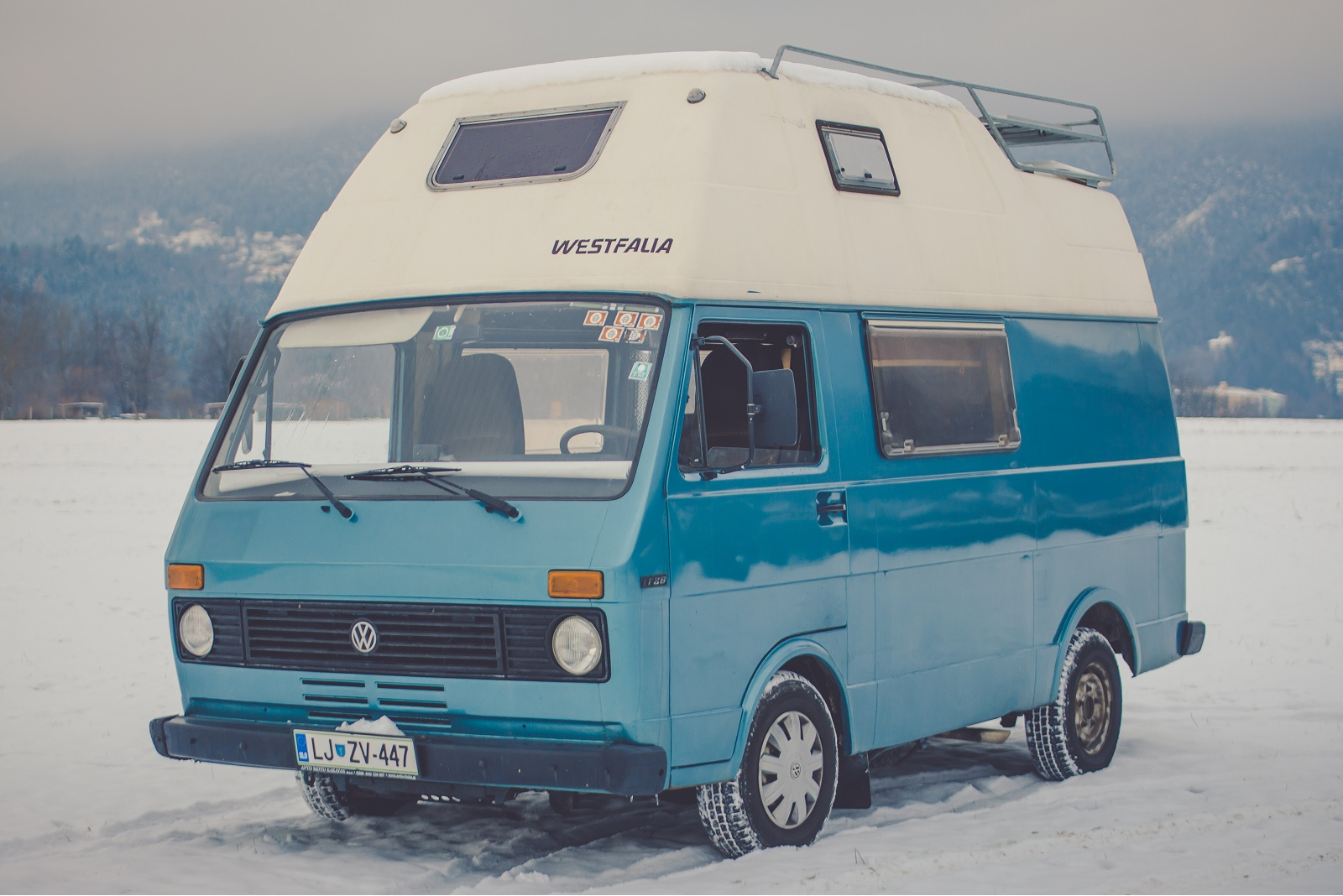 Camper winter
