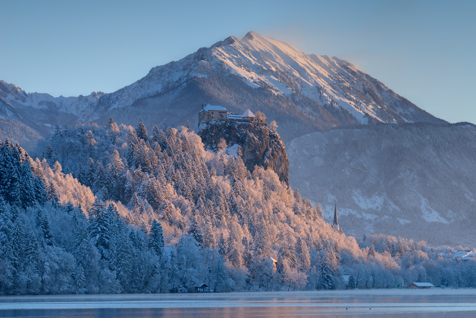 Lake Bled winter