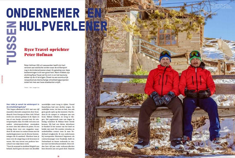 Wintersport Magazine Peter Hofman