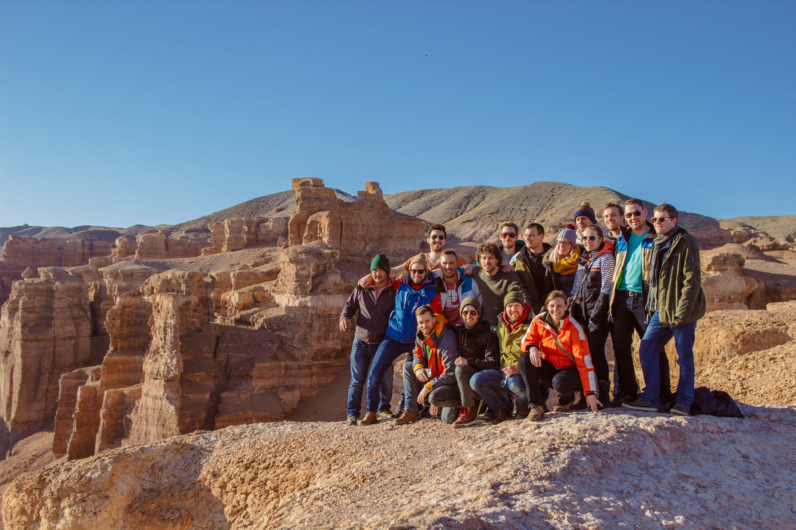 Charyn canyon group